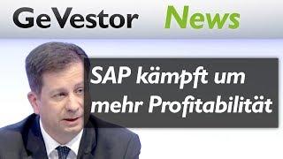 SAP Aktie: Konzern will restrukturieren und um mehr Profitabilität kämpfen