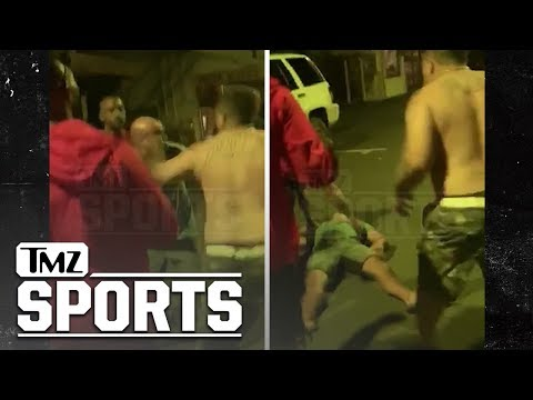 He Asked For It: UFC Hall Of Famer B.J. Penn Gets Knocked Out In A Hawaii Street Fight!