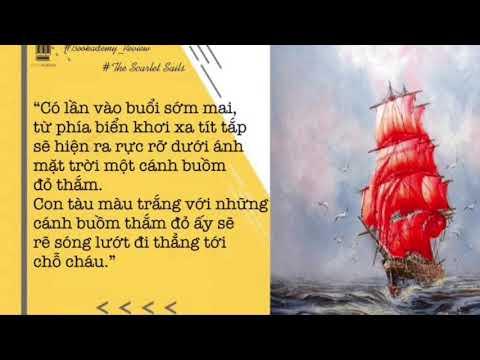 """MS 16: Vũ Minh Anh - Lớp 5A7 TH Kim Đồng, Ba Đình. Giới thiệu sách """" Cánh buồm đỏ thắm"""""""