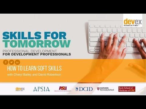 [FULL WEBINAR] How To Learn Soft Skills - YouTube