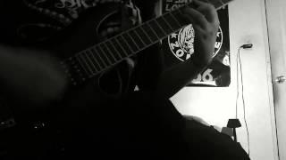 The dawn no more rises-Dark Funeral(guitar cover)