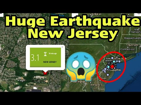 New Jersey Earthquake Today