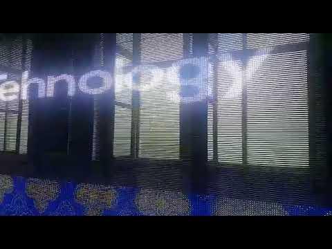 Светодиодный пиксельный медиафасад