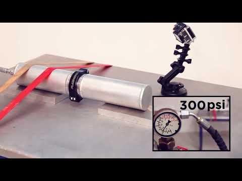 Plazmaclamp Explosion Test