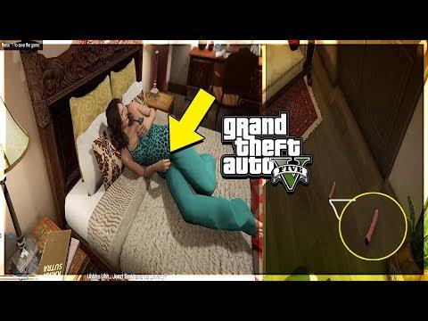 I CAUGHT AMANDA IN THE BEDROOM BEING HORNY [GTA V]