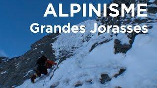 #1 Les Grandes Jorasses Face Nord Colton MacIntyre Chamonix Mont Blanc alpinisme montagne