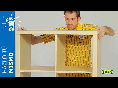 Instrucciones Montaje IKEA - Estantería KALLAX