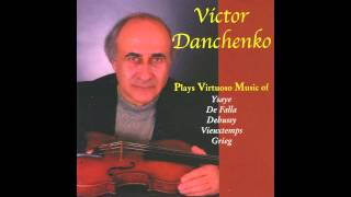 Victor Danchenko plays Ysaye Sonata No. 1 op. 2 in G Minor for violin solo