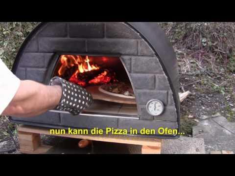 Holzofen-Pizza leicht gemacht