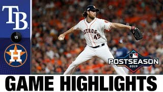 Cole's 15-K gem fuels Astros' Game 2 win | Rays-Astros Game Highlights 10/5/19