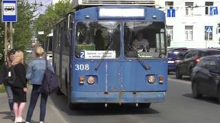 "Троллейбус №2 ""ушел в стойло"""