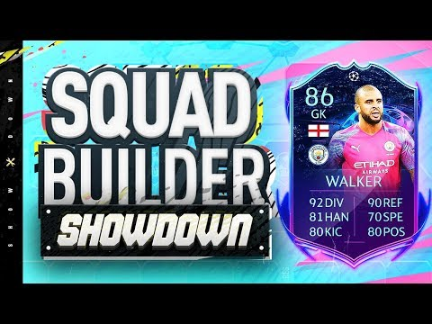 Fifa 20 Squad Builder Showdown!!! GOALKEEPER KYLE WALKER!!! Special Kyle Walker In Goal SBSD
