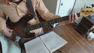 Aretha Franklin - See Saw (bass cover)