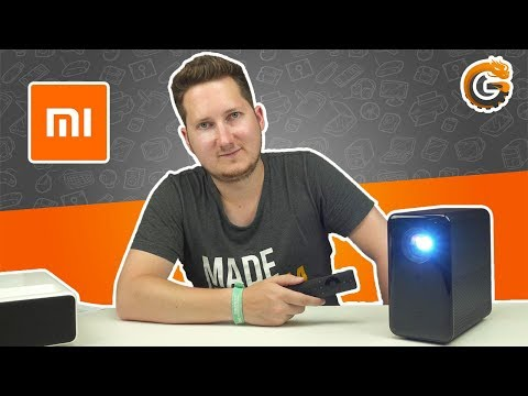 "Xiaomi Mijia Projector: 120"" HDR10 LED Beamer mit 3500 Lumen im Test / DEUTSCH 