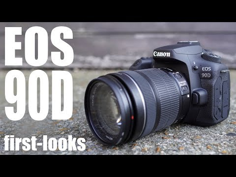 External Review Video lmOM-rHwMP8 for Canon EOS 90D APS-C DSLR Camera