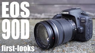 Canon EOS 90D hands-on 1st looks: Canon's BEST all round DSLR?