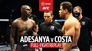 Israel Adesanya v Paulo Costa   UFC 253 Full-Fight Replay