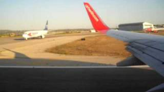 preview picture of video 'Air Berlin - Abflug - Palma de Mallorca - RW 24R'