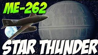 War Thunder Jet Gameplay - Me-262 Tie Fighter! Star Thunder!
