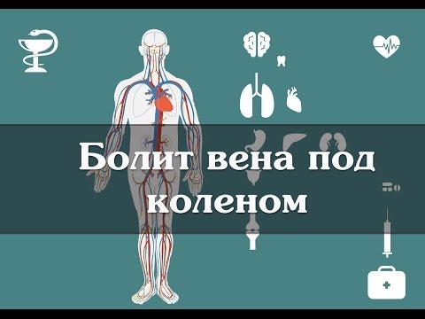 Болит вена под коленом