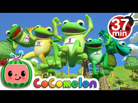 Five Little Speckled Frogs | +More Nursery Rhymes & Kids Songs - CoCoMelon