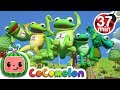 Download Lagu Five Little Speckled Frogs + More Nursery Rhymes & Kids Songs - CoComelon Mp3 Free
