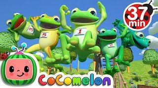 Five Little Speckled Frogs + More Nursery Rhymes & Kids Songs - CoComelon