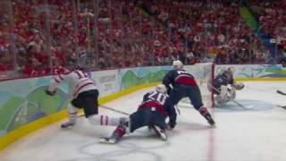 USA 2-3 Canada - Men's Ice Hockey Gold Medal Match | Vancouver 2010 Winter Olympics