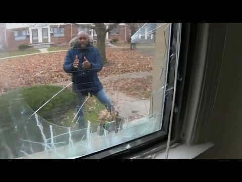 Homeowner injured when Detroit police raids wrong home