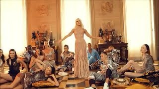 Models Get Down to 'Versace on the Floor' in Epic Lip Sync with Donatella Versace
