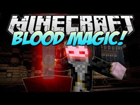 Minecraft | BLOOD MAGIC! (The Ultimate Evil Wizard!) | Mod Showcase [1.6.2]