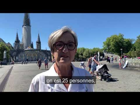 """""""Venez à Lourdes pour trouver un autre sens à ce que l'on est en train de vivre"""""""