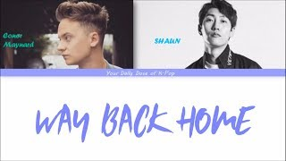 SHAUN - Way Back Home ft. Conor Maynard Color Coded Lyrics HAN ROM ENG