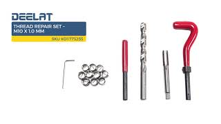 Thread Repair Set – M10 x 1.0 mm