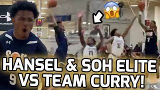 Hansel Enmanuel Takes On STEPH CURRY'S AAU Team! Angel Montas Throws Down CRAZY POSTER DUNK! 📸