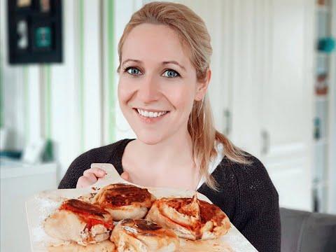 Pizzabrötchen mit BBQ Kraut - Nie wieder Lieferservice!