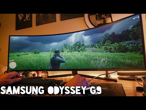 External Review Video lmWdKc6W4Q4 for Samsung Odyssey G9 49-in Gaming Monitor (C49G95T)