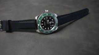 Perfektes Kautschuk Uhren Armband für 12€