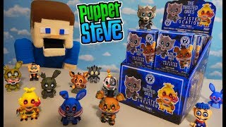 Five Nights at Freddy's Twisted Ones Funko Mystery Minis Case Unboxing