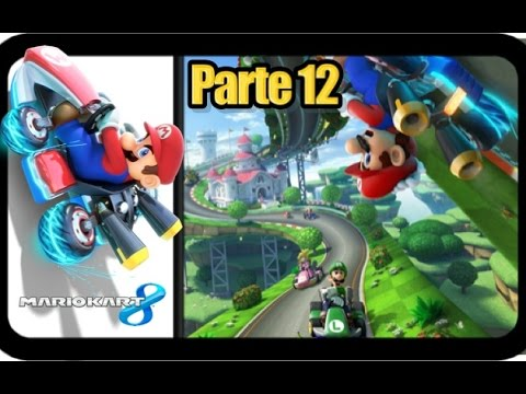 Mario Kart 8 - Parte 12 La Concha Roja - Español