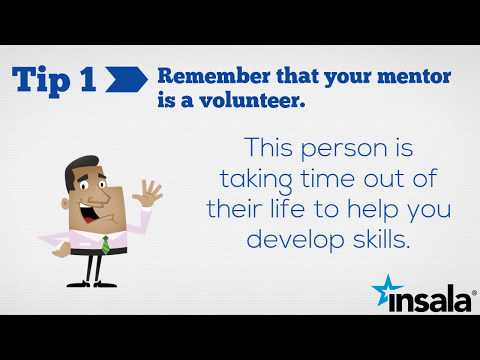 10 Tips For Being A Good Mentee