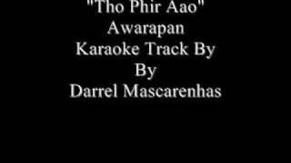 Tho Phir Aao Karaoke By Darrel Mascarenhas - YouTube