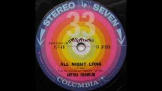 Aretha Franklin - Sweet Lover / All Night Long - 7″ 33 RPM - 1961