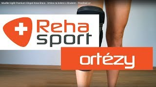 Mueller Hg80 Premium Hinged Knee Brace - Ortéza na koleno s kloubem 68004b4657