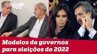 Ciro Gomes diz que Lula deveria se inspirar em Cristina Kirchner
