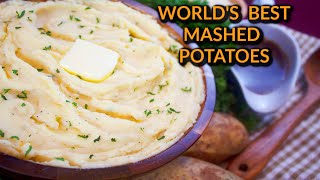 Worlds Best Creamy Mashed Potatoes Recipe:  Mashed Potatoes With Parmesan & Cream Cheese