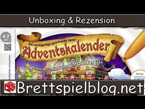 TipToi Adventskalender 2015 - In der Weihnachtsbäckerei - Unboxing & Review - Brettspielblog.net