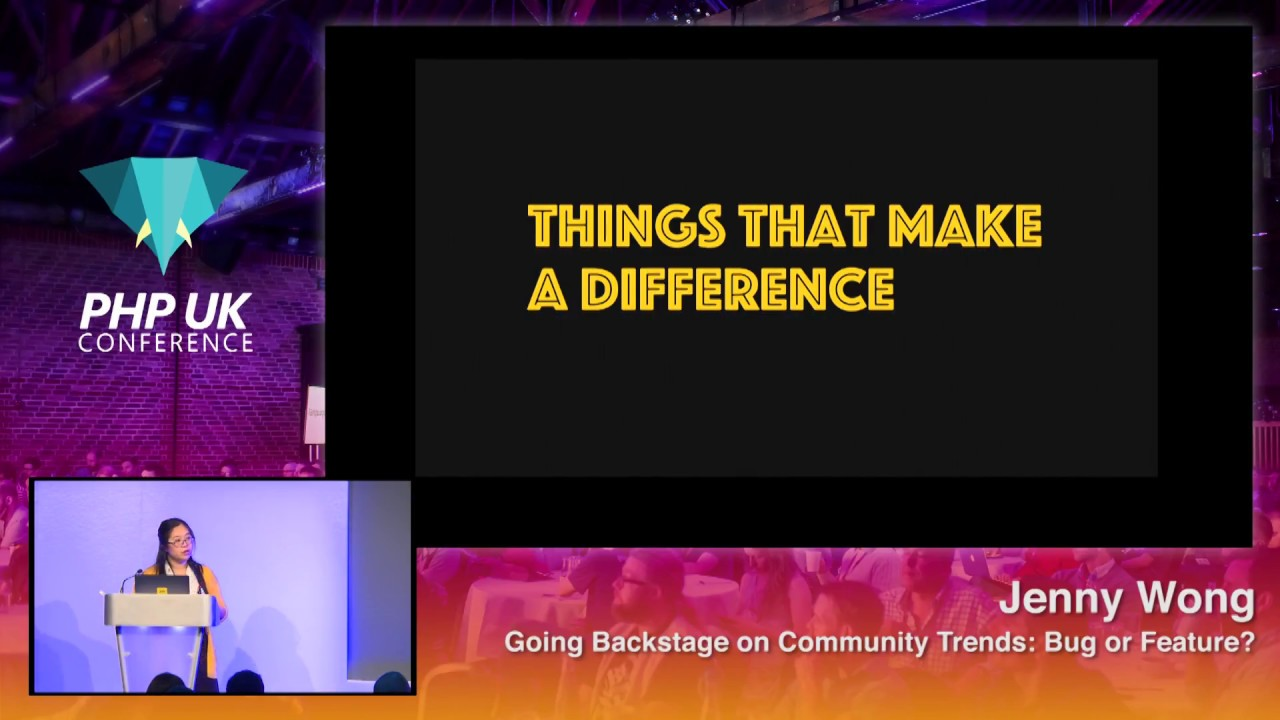 Going Backstage on Community Trends: Bug or Feature?