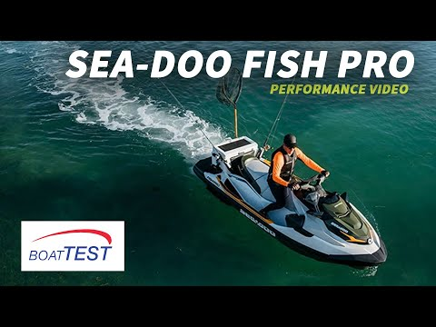 Sea-Doo Fish Pro (2019-) Test Video – By BoatTEST.com