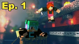 A Minecraft Survival Adventure Series / Episode 01/ Lucky First Day!